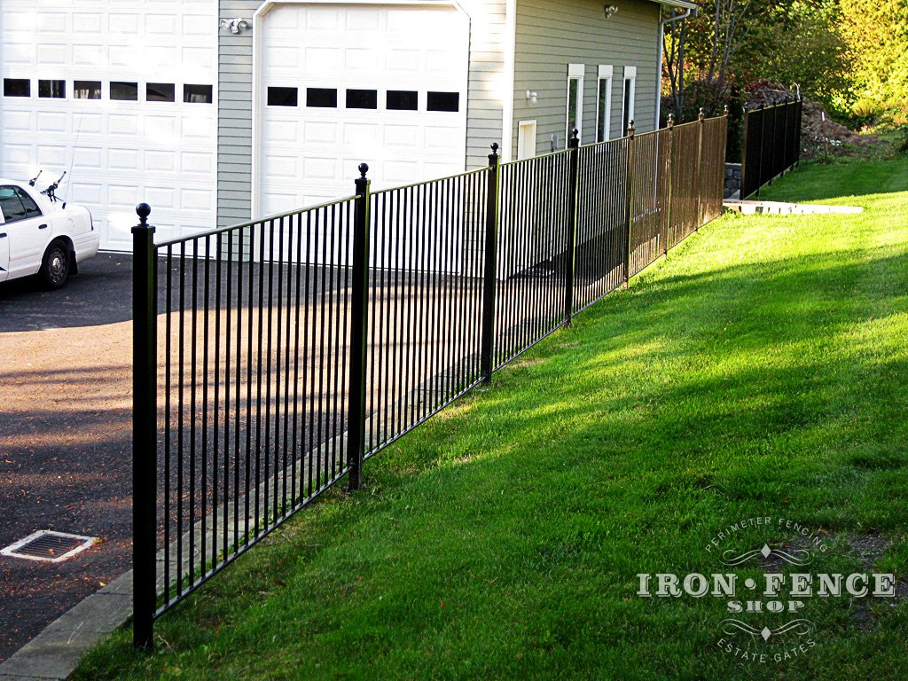 Are the tips on your wrought iron and aluminum fence