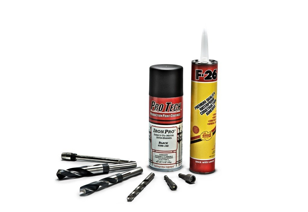 Our Free Iron and Aluminum Fence Install Kit