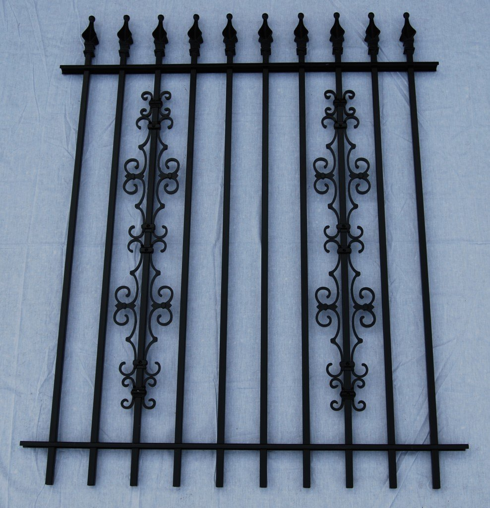 Add-on Cast Aluminum Decorations for Your Iron or Aluminum Fence and Gates