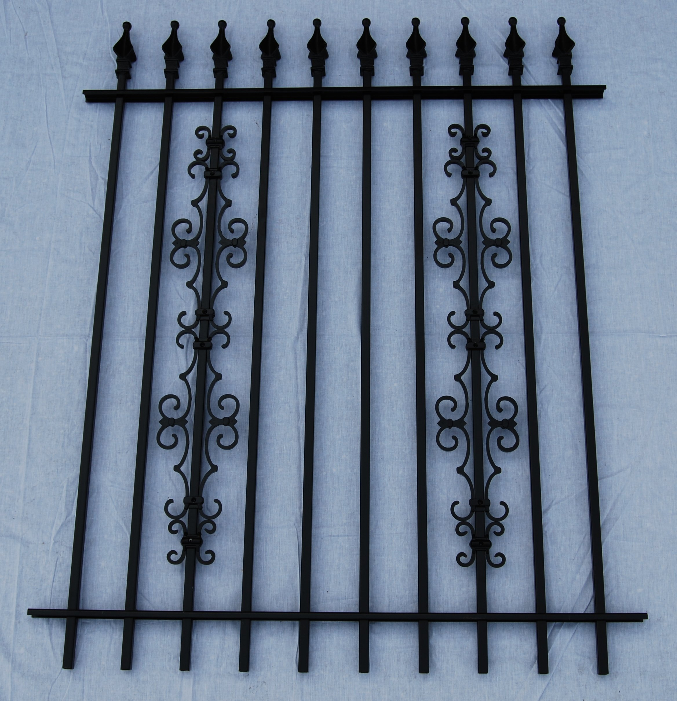 Add on decorations for a custom touch iron fence shop blog for Aluminium decoration