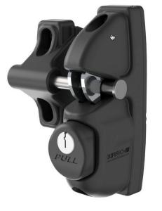 Optional SafeTech Cobra Latch for Iron or Aluminum Gates