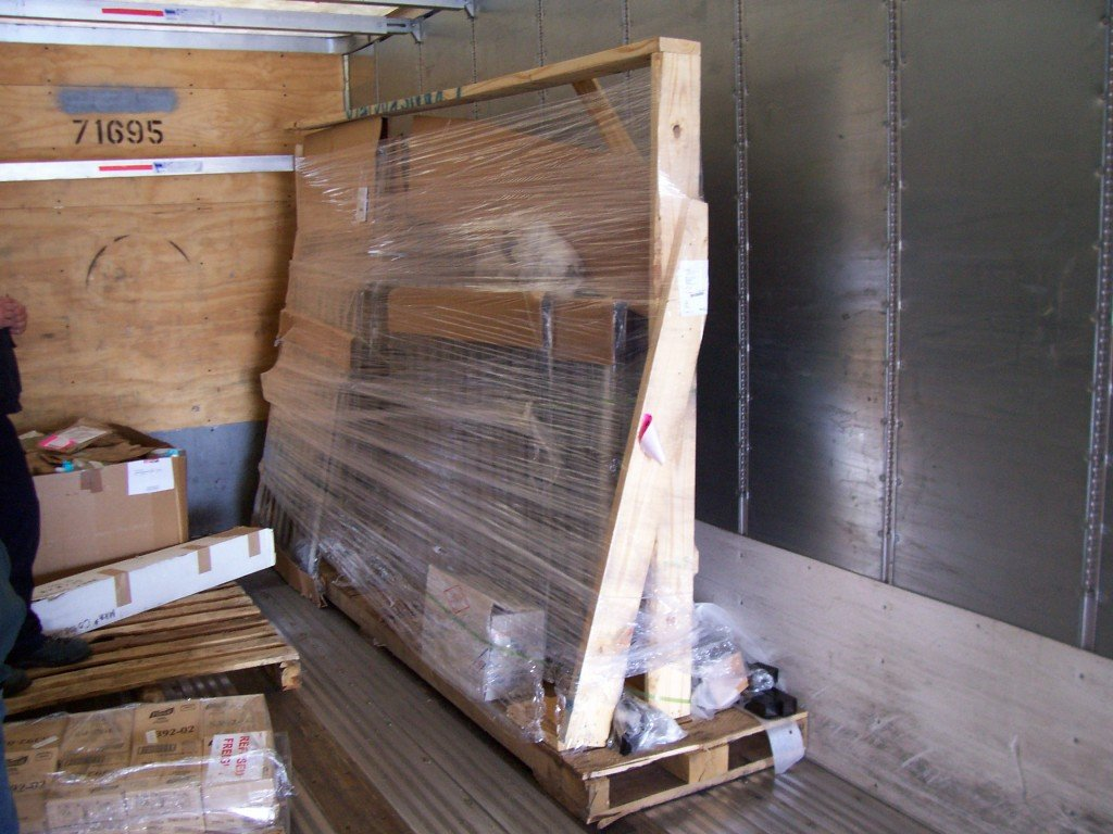 Example of an Iron Driveway Gate Shipment