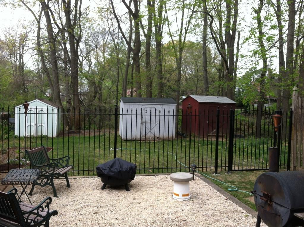 DIY Installation of Iron Fence Patio Enclosure