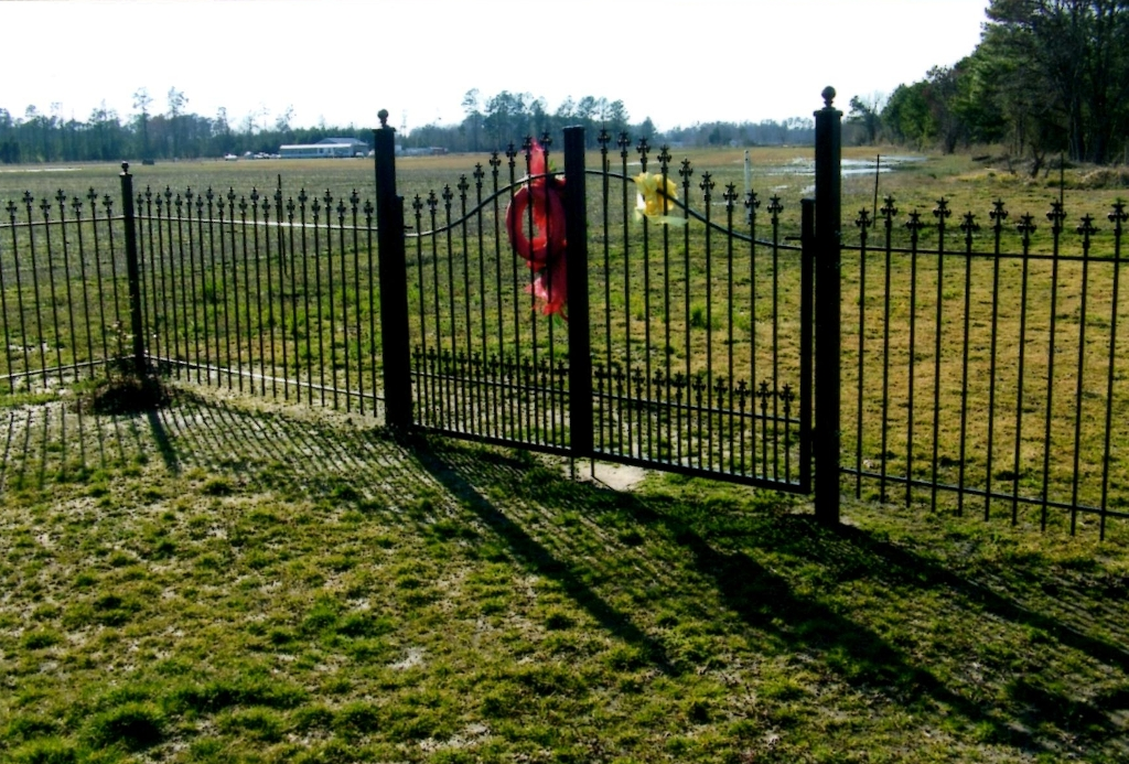 A custom iron fence testimonial from north carolina