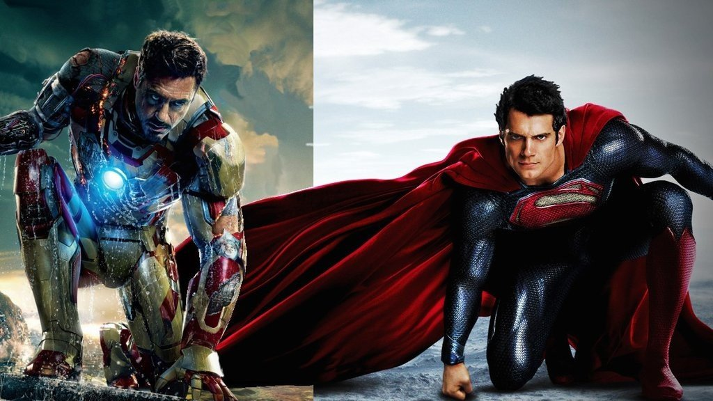 Iron Man or Man of Steel?  Iron Fence or Steel Fence?  Confused Yet?