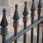 Welded Iron Fence Finials