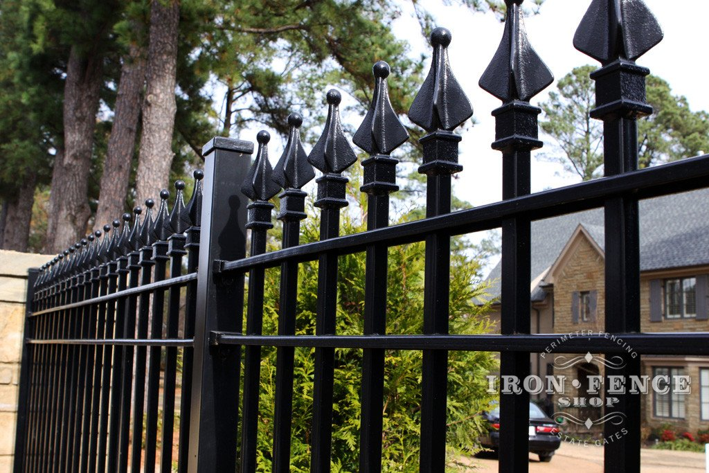 Authentic Wrought Iron And Aluminum Fence It S All About