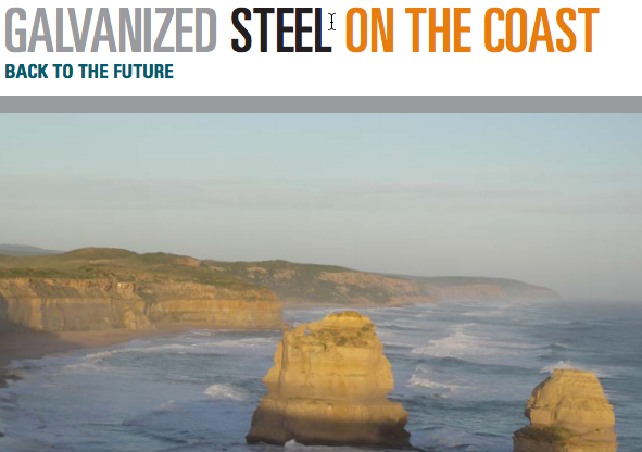 Case Study of Galvanized Steel Use on the Au Coast