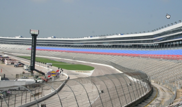 Texas Motor Speedway Galvanized Rails and Fencing