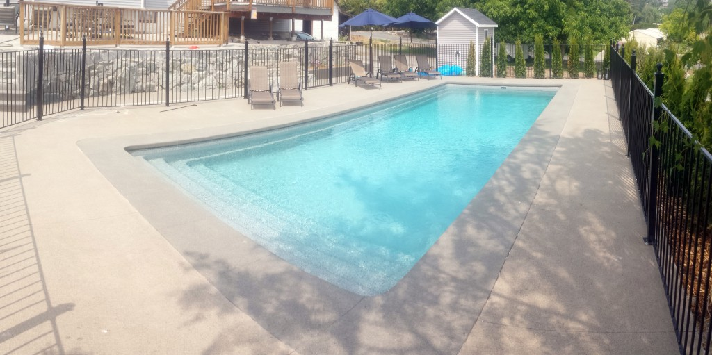 4ft Tall Iron Pool Fence