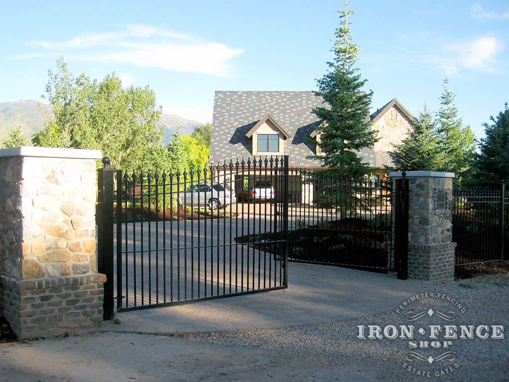 What do i need to diy install an iron or aluminum gate iron fence installing an iron or aluminum gate can be tackled by the average do it solutioingenieria Image collections
