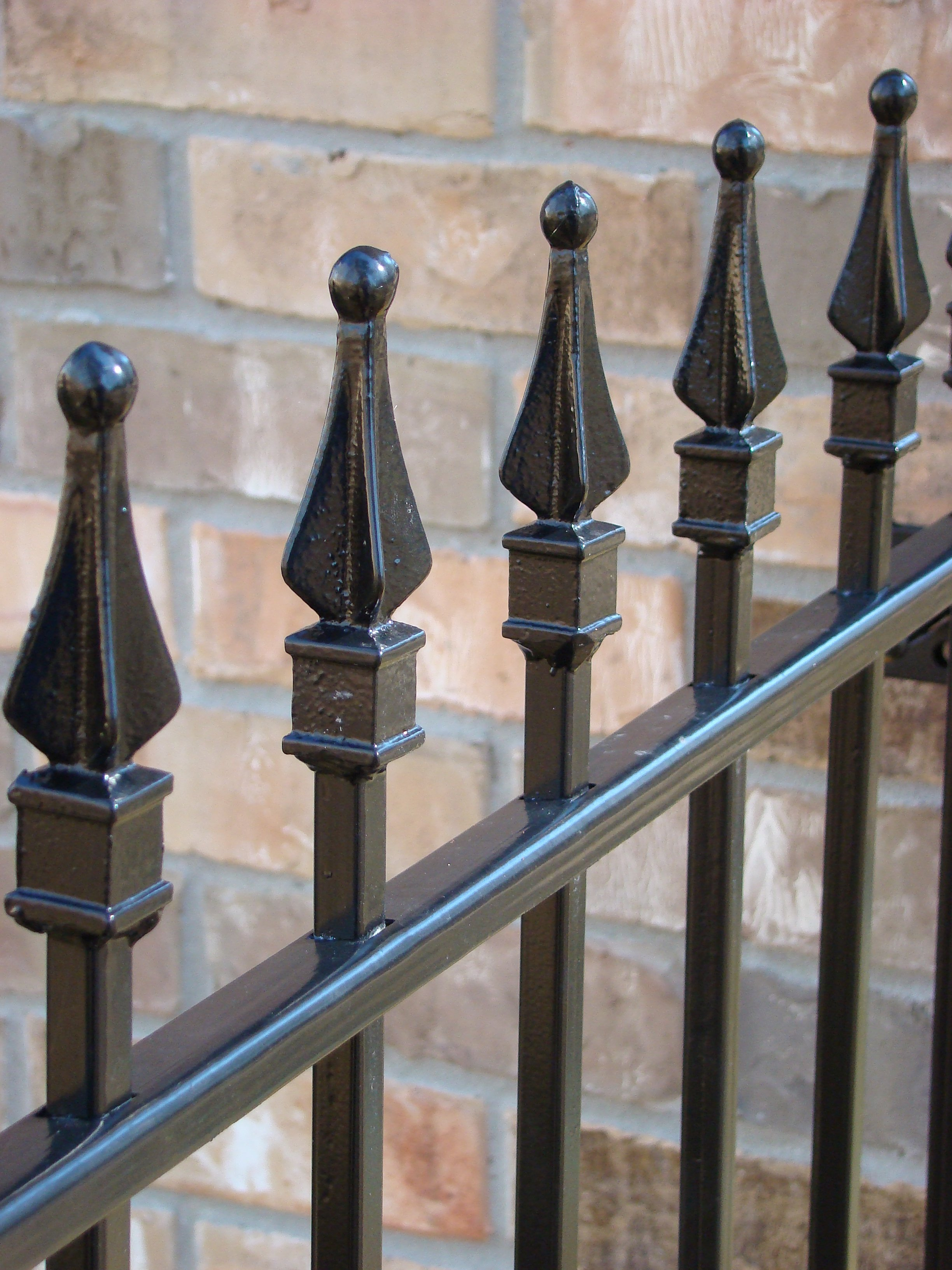 what do i need to diy install a wrought iron fence iron