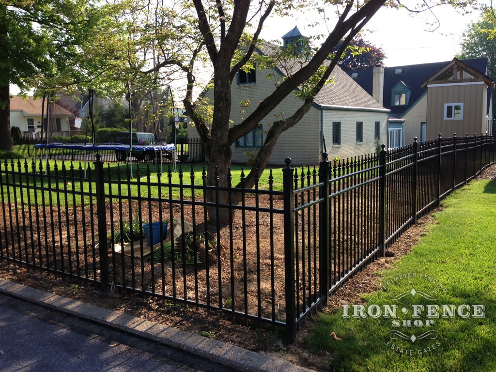 Our Infinity Aluminum Fence can Easily be Installed by the Average Do-It-Yourselfer