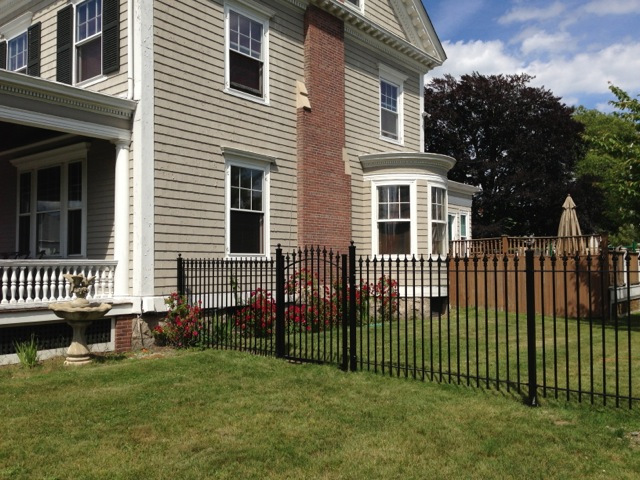 Installing Our Stronghold Iron® Fence is Very Straightforward
