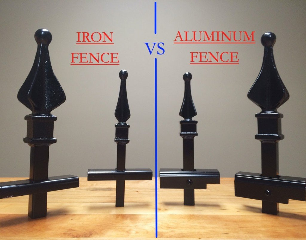 Iron Fence vs Aluminum Fence  - Which is Better?