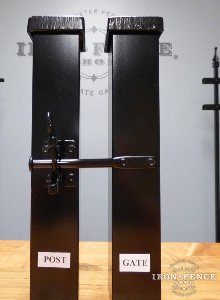 Standard Gravity Latch for Metal Gates