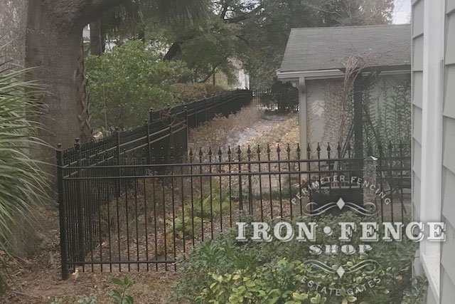 5ft Tall Infinity Aluminum Fence in Classic Style and Signature Grade