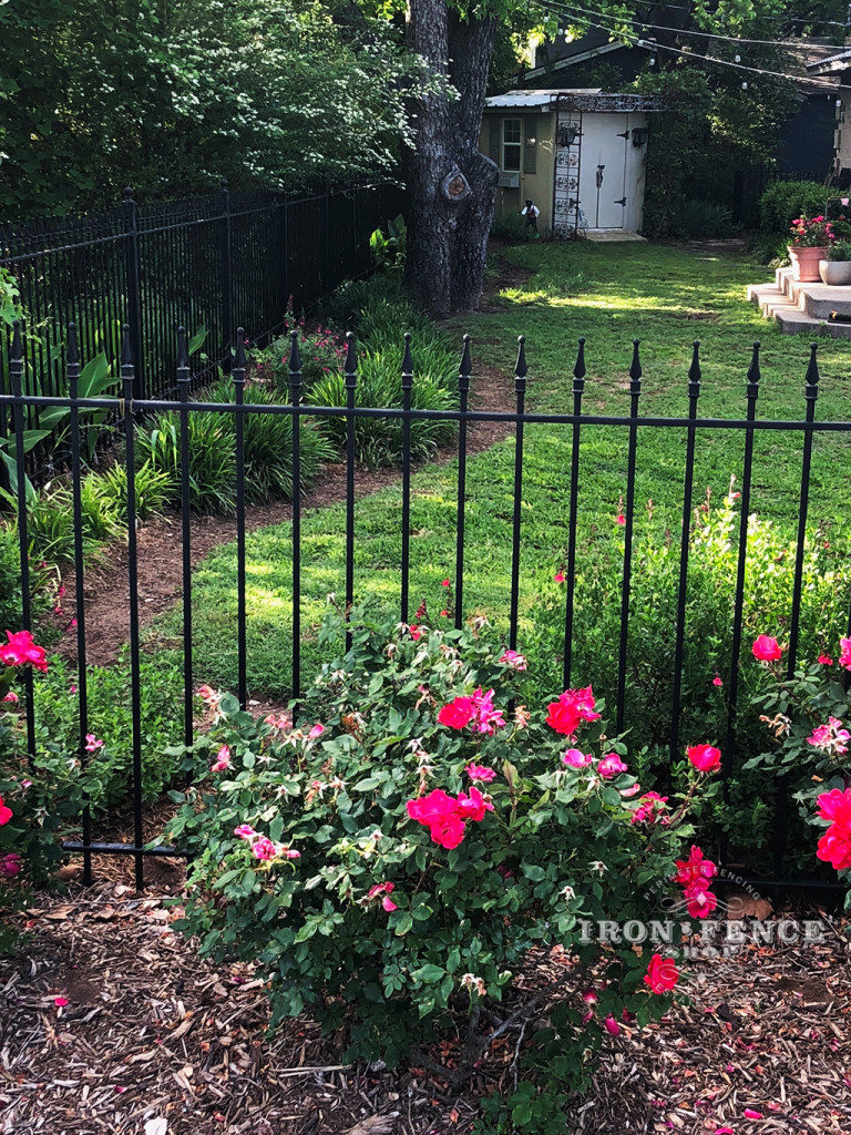 4ft Wrought Iron Fence in Classic Style and Traditional Grade