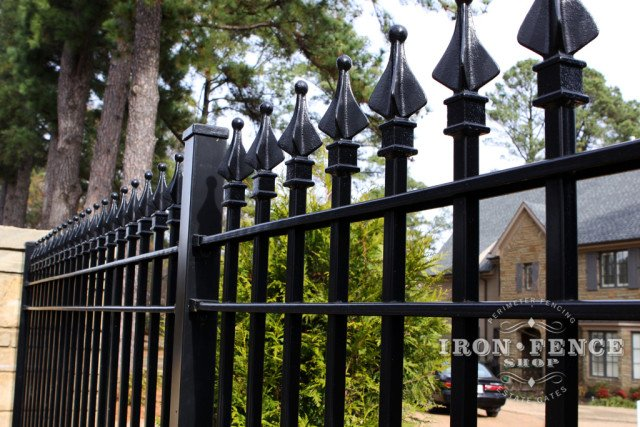 Wrought Iron Security Fence